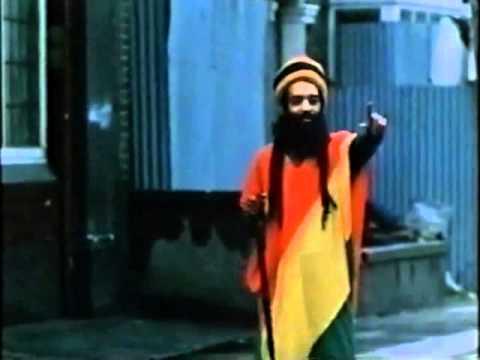 Walking Flag of Ethiopia