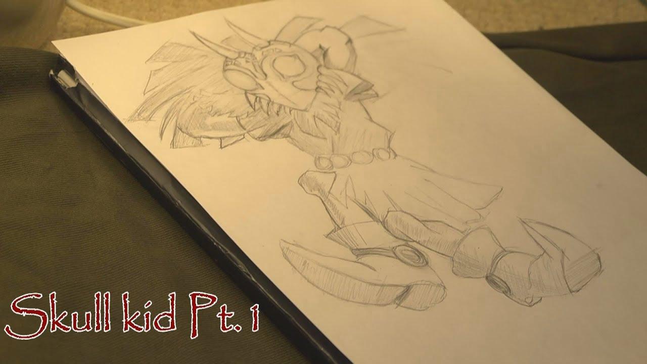 How to draw Skull Kid Legend of Zelda  YouTube