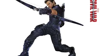Луки Соколиного Глаза/Hawkeye's Bows (из фильмов про мстителей)