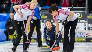 CURLING: SWE-RUS Euro Chps 2014 - Women Draw 3