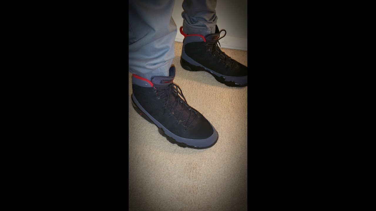 new product 47499 5adb9 Jordan Retro Charcoal 9 On Feet