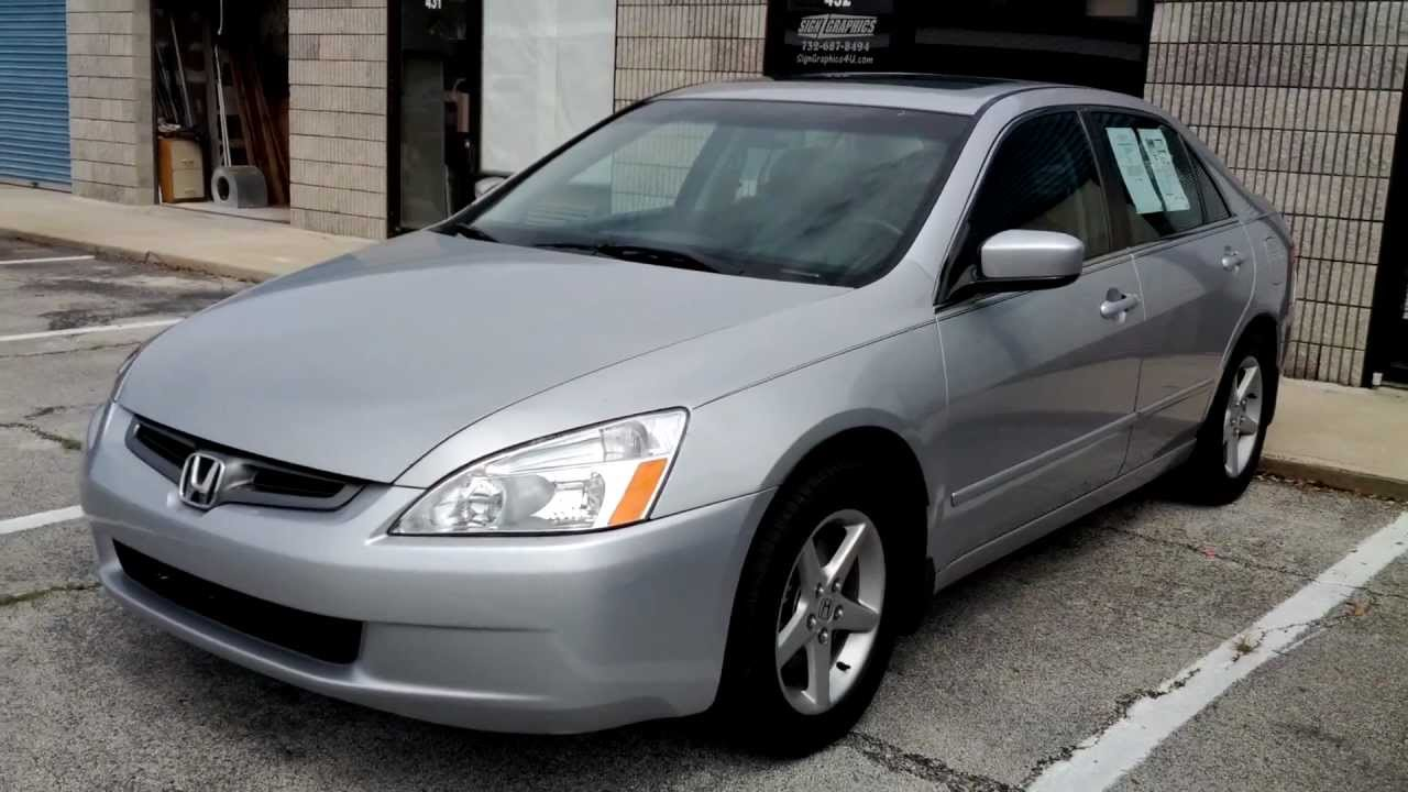 2003 honda accord ex l v6 excellent condition new timing belt old youtube. Black Bedroom Furniture Sets. Home Design Ideas