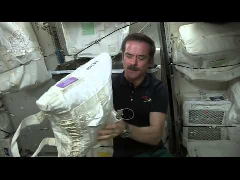 太空人怎麼取得水? 國際太空站的廢水回收