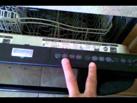 Kenmore Dishwasher Reset Youtube
