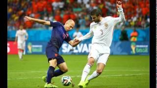 ФУТБОЛ. Нидерланды - Испания — 5:1. ЧМ 2014 БРАЗИЛИЯ.