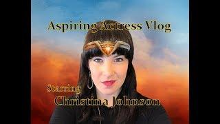 Aspiring Actress Vlog - Wonder Woman Edition