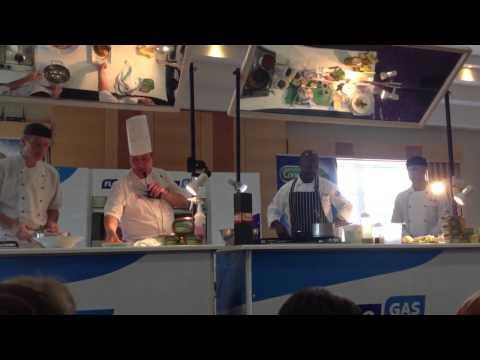 Head Chef Marc Gabbidon at A Taste of Sligo