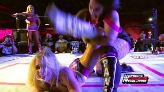 [Free Match] Jordynne Grace & LuFisto vs. Penelope Ford & Maria Manic   Women's Wrestling Revolutio