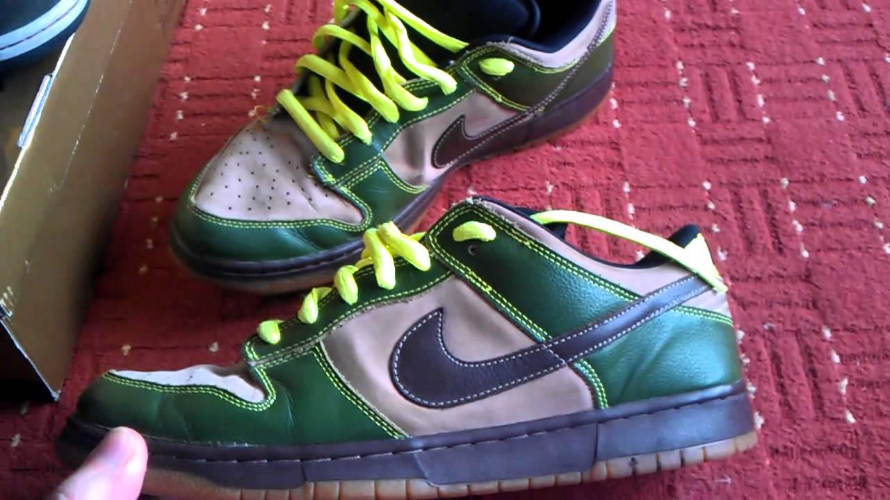reputable site 03681 61f80 Nike SB Dunk Jedi  Boba Fett - YouTube