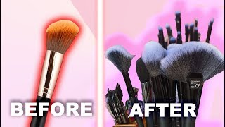 How to Clean Your Makeup Brushes in 5 Minutes! 🎨