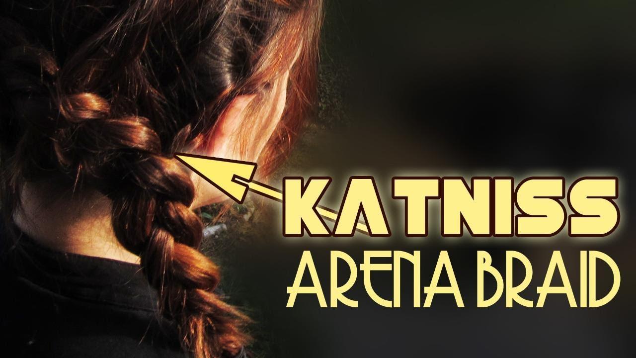 Katniss Arena Zopf Aus Den Hunger Games Tribute Von Panem Youtube