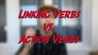 Linking Verbs vs. Action Verbs - Learn English online free video lessons(This video is about linking verbs and action verbs. Linking verbs are followed by an adjective or a phrase and cannot be used in the continuous (progressive) ..., 2016-05-08T03:55:40.000Z)