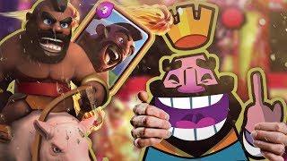 EXTREEM SNELLE HOG DECK!! (Win binnen 4 seconden) - Clash Royale