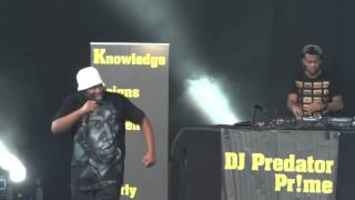 KRS-One - 9mm Goes Bang (Live)