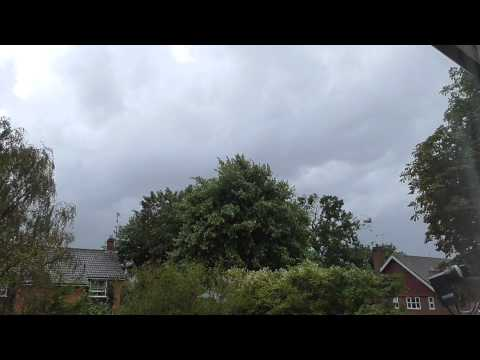 Full Thunderstorm Video Start to Finish in the UK
