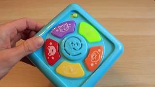 Обзор игрушки Интерактивный кубик фирмы BabyGo (interactive cube babyGo)