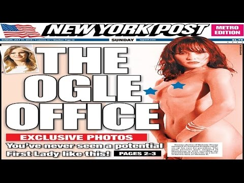 21 years ago Melania posed nude. The NYPost just published the photos
