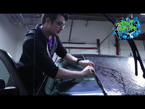 Reverse Rolling Window Tint | This secret detail helped me learn!