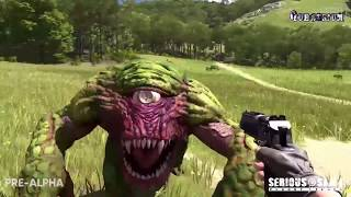 Serious Sam 4: Planet Badass - First Great Gameplay (video from the game)