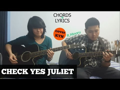 We The Kings - Check Yes Juliet (acoustic cover KYN) + Lyrics + ...