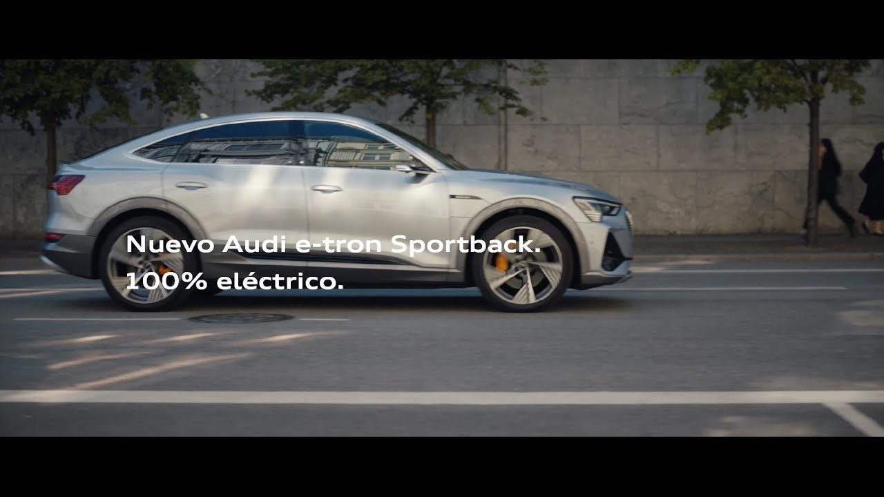 100% eléctrico. 100% futuro. Nuevo Audi e-tron Sportback
