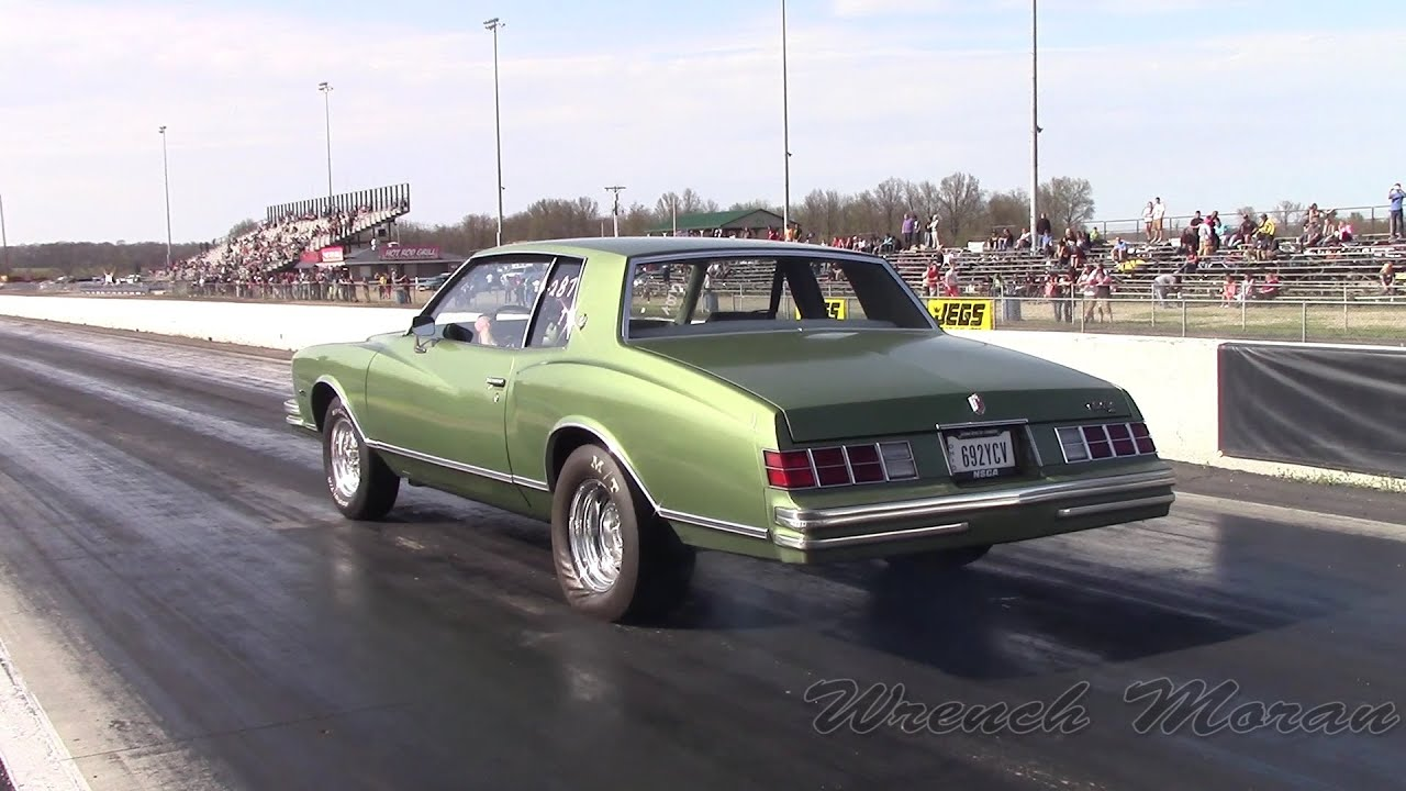 Captivating Fast 1979 Chevy Monte Carlo │ Drag Racing IFO 2014