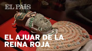El ajuar de la reina roja maya | México