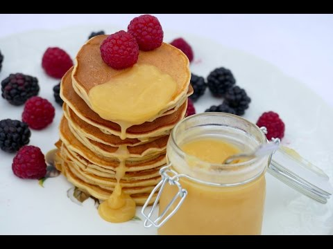 pancakes-ricotta---banane-et-le-lemon-curd