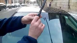 HOW TO remove/install BUICK REGAL / LACROSSE wiper blades