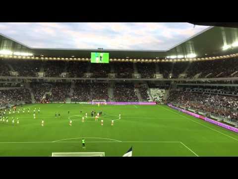 Fcgb match inaugural Bordeaux Montpellier nouveau stade Bordeaux Zidane