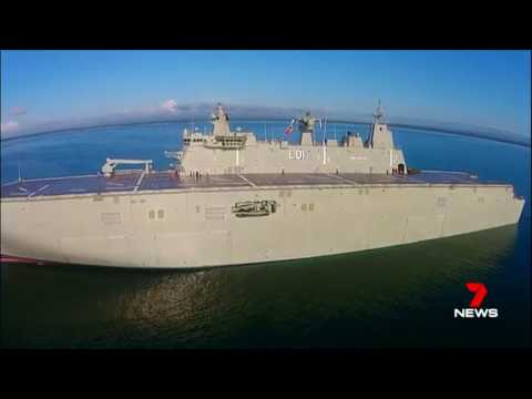 LHD Adelaide, LHD Canberra, azipod issues, report IV