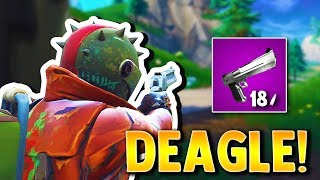 HUNTING FOR THE DEAGLE! (accidentally won)