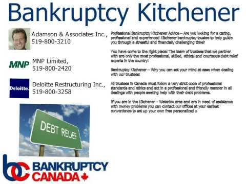 Bankruptcy Kitchener