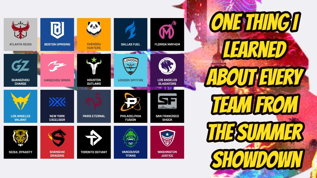 One Thing I Learned About Every Team From the OWL Summer Showdown Tournament
