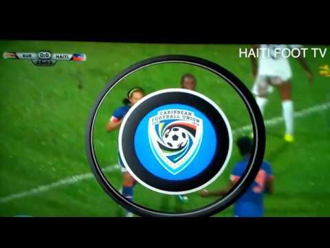 HFTV: HAITI VS SURINAME 1-6-2017 goal blanc solo
