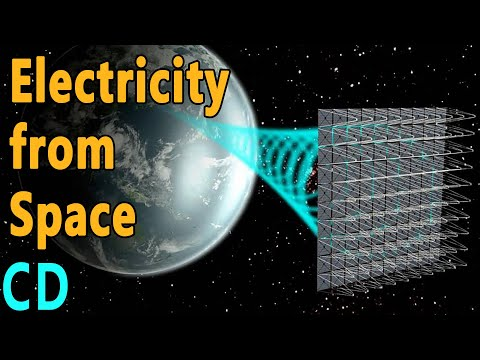 Will our electricity come from space in the future?
