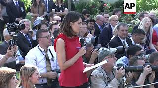 Trump has testy exchange, insults female reporter