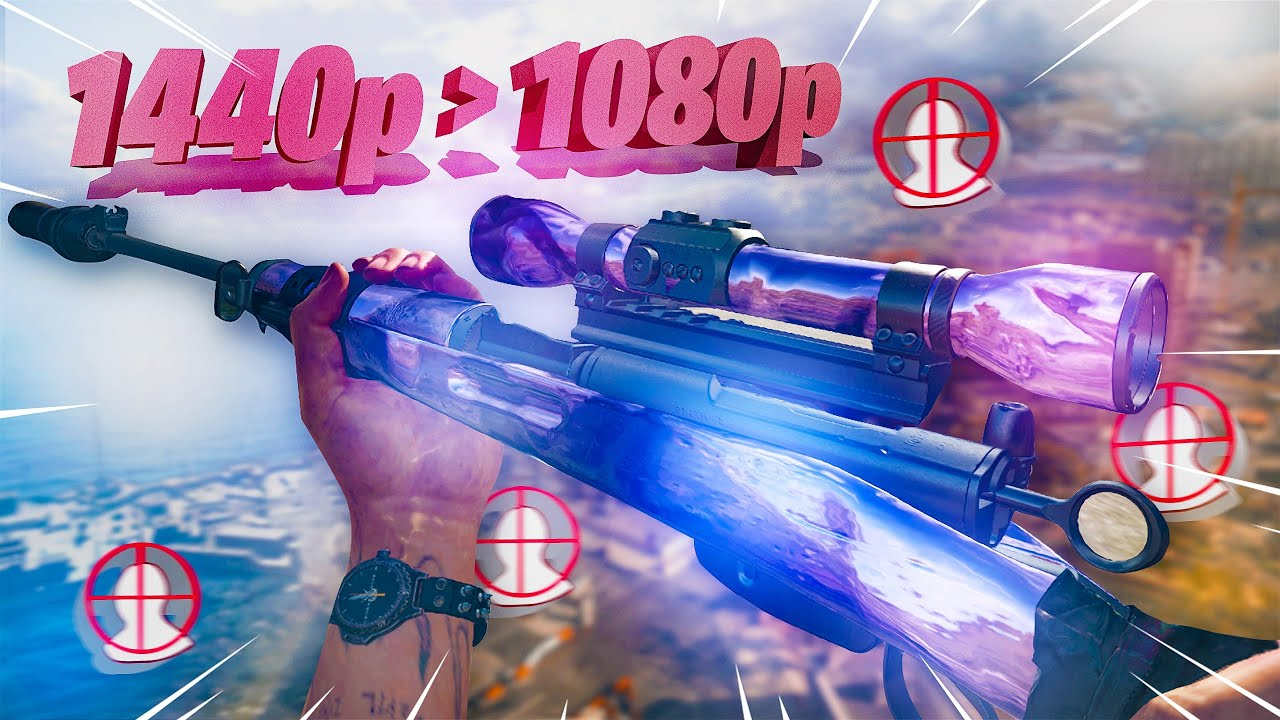 I upgraded to 1440p in Warzone and hit some CRAZY snipes (worth it)