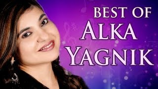 Alka Yagnik Hit Songs - JukeBox 1 - Top 10 Alka Yagnik Songs - Evergreen Hindi Songs