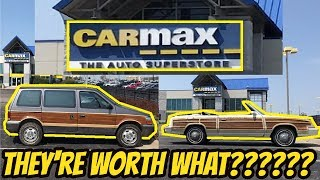 I Took My Aged Chrysler Products to Carmax for an Appraisal