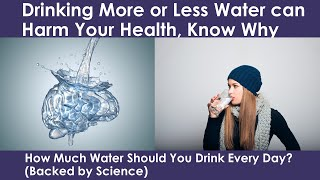 How Much Water Should You Drink Per Day and Why