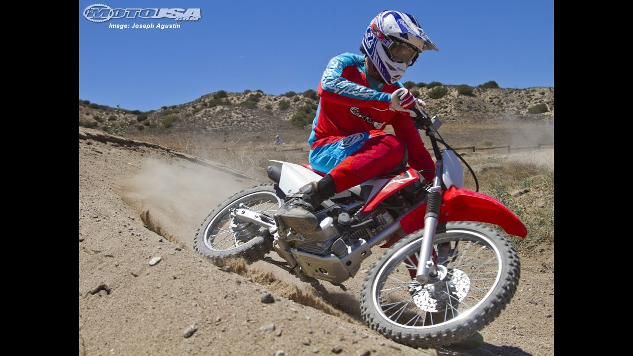 2014 Honda Crf125f First Ride Motousa Youtube