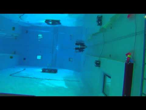 """2013 Aqua Robot Convention in JAMSTEC OPPAMA TESTING POOL 1s day """"ORIENTATION"""""""