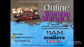 Sunday Service Sept  20 2020