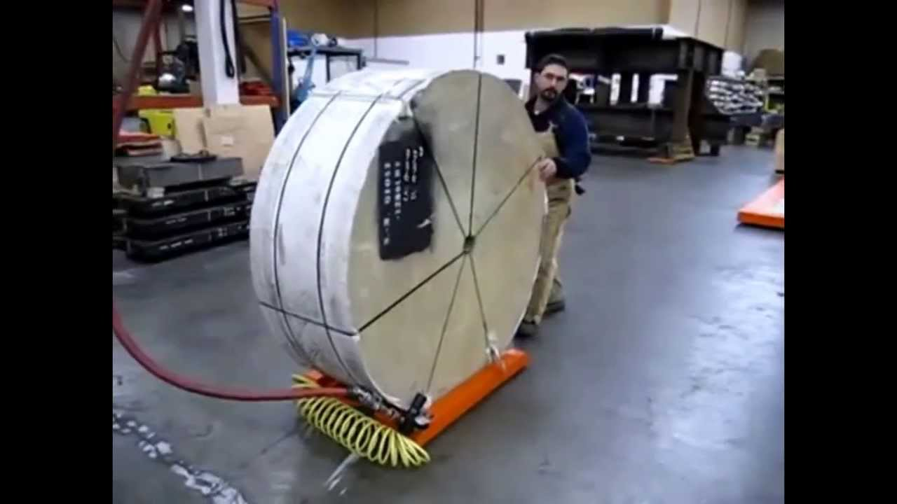 Roll Mover From Materials Handling P L Youtube