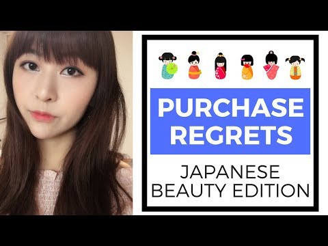 5 Japanese Purchase Regrets - Beauty Edition   JAPAN SHOPPING GUIDE