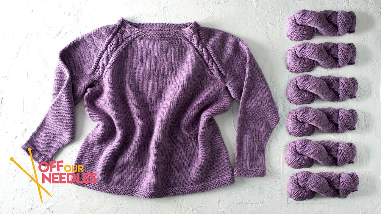 Swatching in the Round & Reading Your Sweater Pattern ...