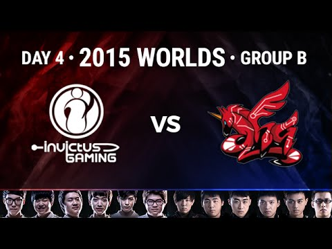 Invictus Gaming vs AHQ e-Sports Club Highlights | 2015 LoL World Championship S5 - Group B D4G3
