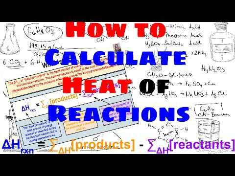 How to Calculate Heat of Reactions