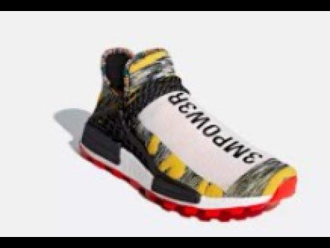 6e0e0f1c0 Adidas x Pharrel Williams Solar Pack Hu NMD Shoes Drop Today! 8 18 ...
